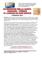SINDONE 3 MAGGIO 2015 - santiniviaggieturismo.it
