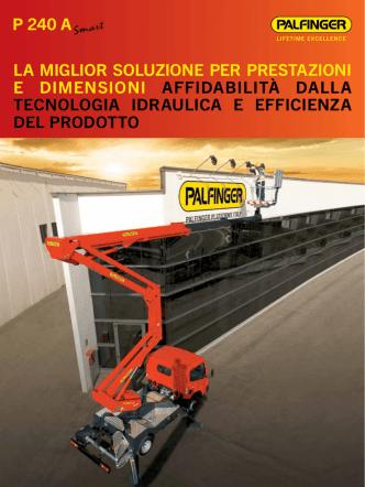 Brochure P240A - Palfinger Piattaforme Aeree