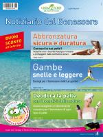 Notiziario del Benessere - Centro Commerciale Eurosia
