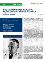 Antonio Mezzari - Giornale Italiano di Ortopedia e Traumatologia