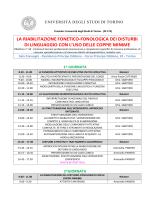 PROGRAMMA CORSO_Cattaneo - Scuola di Medicina