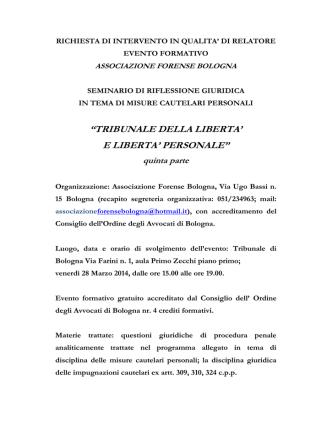 associazione forense bologna