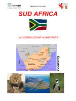 La distribuzione alimentare - SUD AFRICA 2014