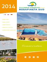 Tra mare e natura. - Villaggio Turistico Rosapineta Sud