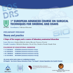 1st European Advanced Course on Surgical