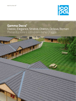 Catalogo Gamma Decra