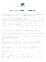 Relazione attività anno 2011 - ISSRGO – ISTITUTO DI STORIA
