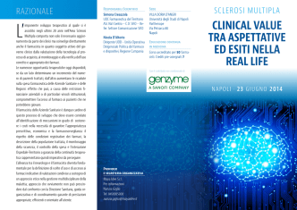 clinical value tra aspettative ed esiti nella real life
