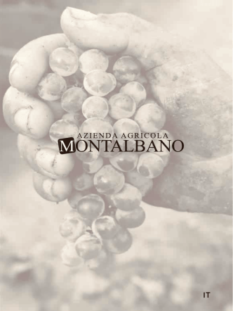 Brochure prodotti (Italiano) - Azienda Agricola Montalbano