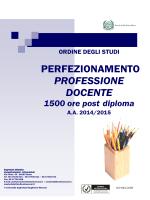 Master Discipline per la Didattica - Università degli Studi Guglielmo