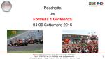 PACCHETTO MONZA F1