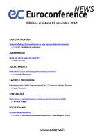 Edizione di sabato 15 novembre 2014