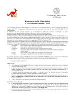 Kangourou della Matematica XVI Edizione Italiana - 2015