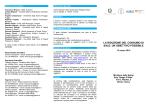 programma del Convegno - Ministero della Salute