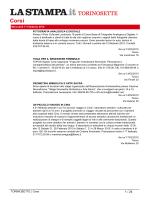 TORINOSETTE | Corsi