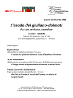 invito - Istituto Storico della Resistenza in Toscana