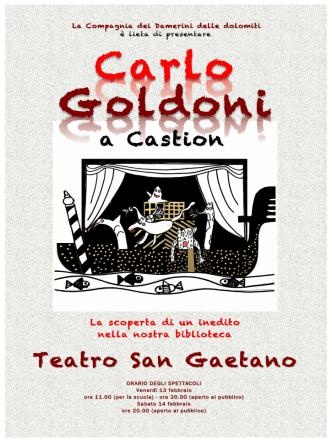 Carlo Goldoni a Castion