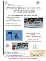 INTERREGIONALE NORD - EST ENDAS SCI 2015