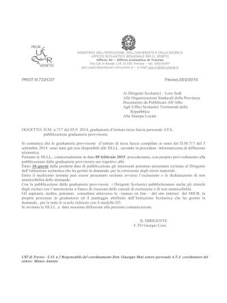 Comunicazione - Treviso – Ufficio scolastico territoriale