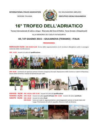 16° TROFEO DELL`ADRIATICO