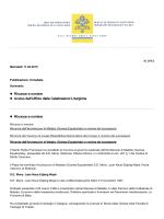Rinunce e nomine Avviso dell`Ufficio delle Celebrazioni Liturgiche