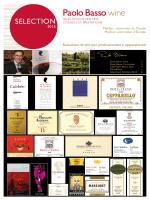 Catalogo Vini - Paolo Basso – Miglior Sommelier del mondo 2013