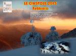 Calendario Ciaspole 2015