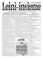 N.152, febbraio 201 - Parrocchia di Leini