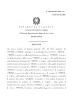 pdf La sentenza Tar Lazio n. 2459/15 - Enti Locali