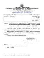 Circolare 274 / 2014 – 2015 Genova, 17 Febbraio 2015