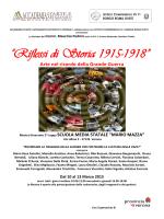 """""""Riflessi di Storia 1915-1918"""" Arte nel ricordo della"""