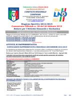 C.U. S.G.S. n. 38 del 26.02.2015