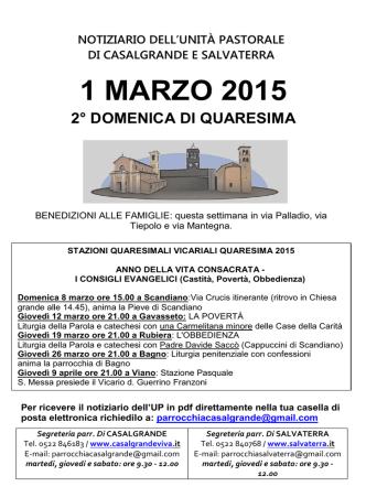 1 MARZO 2015 - salvaterra.it