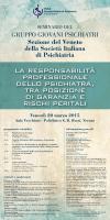 GRUPPO GIOVANI PSICHIATRI Sezione del Veneto della Società