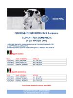 Coppa Italia Lombardia programma