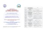 Laboratorio LEMIC (calendario attività marzo-maggio 2015