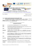 Pubblicazione Graduatoria Provvisoria TUTOR PON-C1-FSE