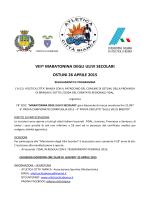 8^ Maratonina Ulivi secolari-Ostuni 26/04/15