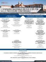 VENEZIA - Isola di San Servolo 22-23-24 maggio 2015