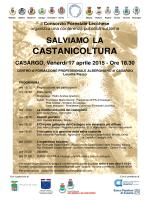 Per i dettagli scarica il manifesto. - Associazione Castanicoltori Lario