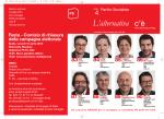 La locandina - Partito Socialista