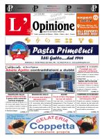 L`Opinione n°6 del 31-03-2015