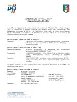 cu77 lnd nomina segretario DP Napoli