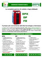 MEPE Attack DPX DP FD caldaie a legna