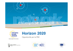 Horizon 2020 - Camere di Commercio