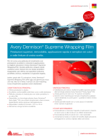 Avery Dennison® Supreme Wrapping Film