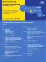 IV Raduno regionale SIRM Emilia Romagna