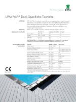 UPM ProFi® Deck Specifiche Tecniche