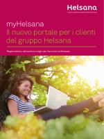 myHelsana: Il nuovo portale per i clienti del gruppo Helsana