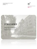 Libretto HS 2014 - Istituto di Lingua e Letteratura Italiana